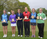 2013 AA Girls Golf All Tourny Team