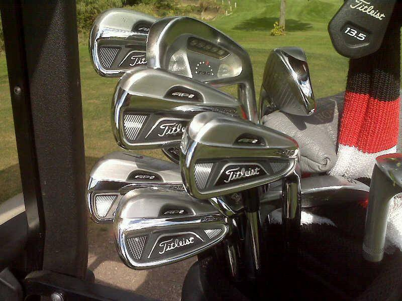 First Round with Titleist AP 2 Irons-Review