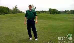 """Golf Fitness Tips- The """"Stork Turn"""" Exercise Video"""