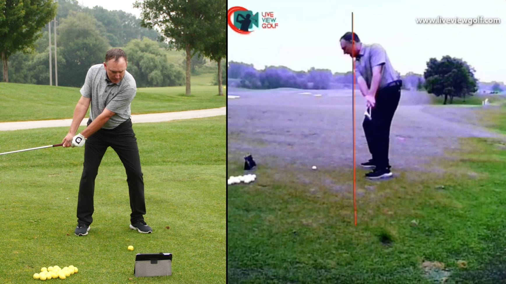 Live View Golf's Digital Swing Technology gives you real-time feedback on every swing you take