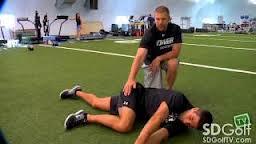 Golf Fitness Tips- Single Leg Balance Exercise With Medicine Ball Video