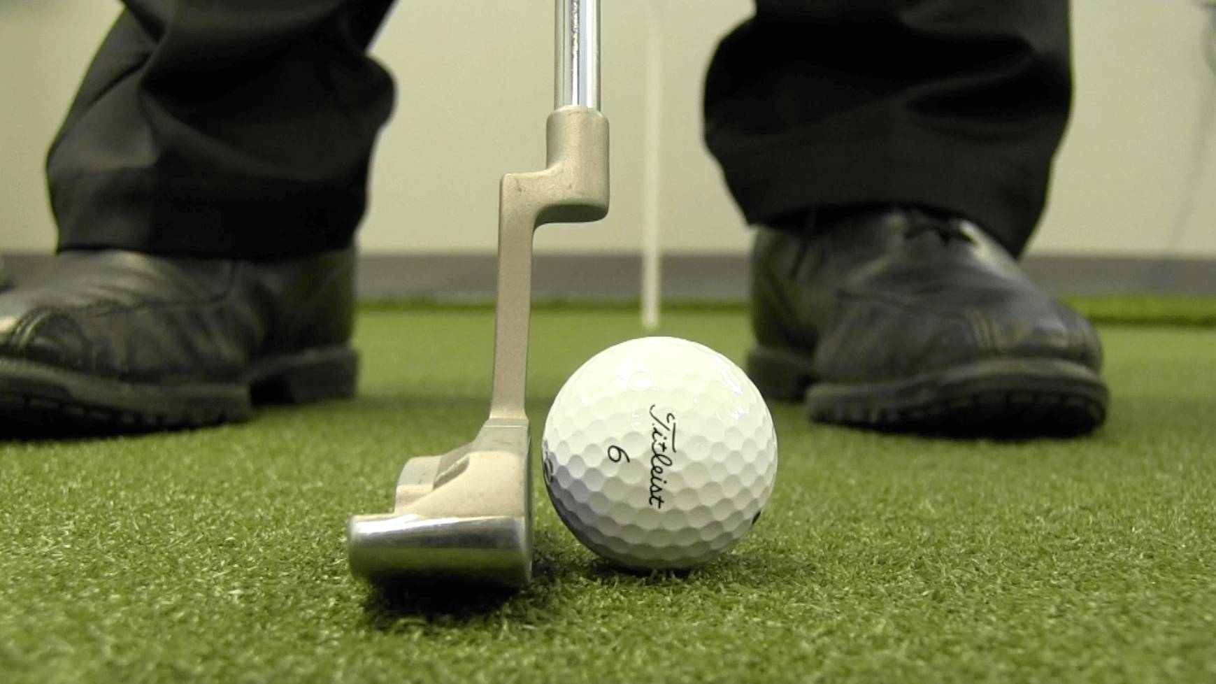 Having a neutral putter grip allows you to use the putter as it was intended, with the loft built into it