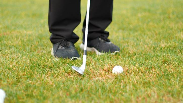 If you struggle with chunked shots, you probably hit too far behind the ball