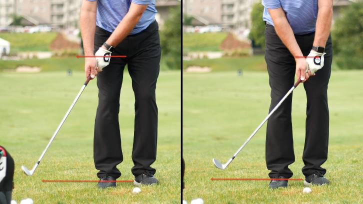 The secret move begins with the club head and handle moving in the same direction