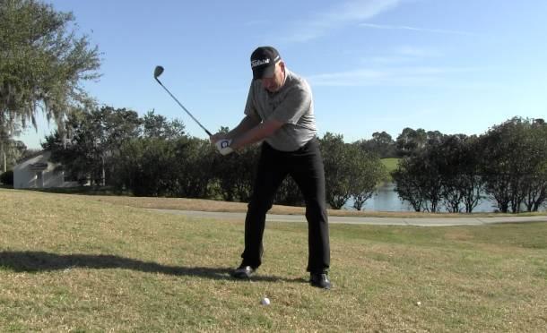 Downhill Lie Golf Shots: How to Guide - USGolfTV