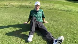 "Golf Fitness Tips- The ""Hip Dip"" Exercise To Improve Hip Flexibility"