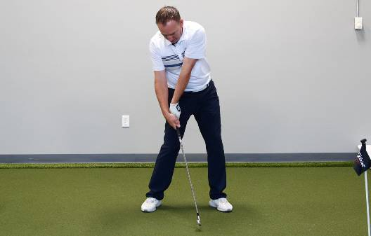 Releasing golf lag too early is caused by trying to swing the club head faster