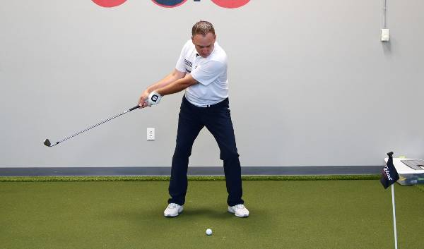 Zero golf lag in the club before impact is a common mistake for casual golfers