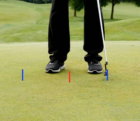A 60/40 putting stroke promotes a more authoritative and consistent putting stroke