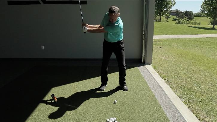 The length of your swing can dictate the distance of you wedge shots