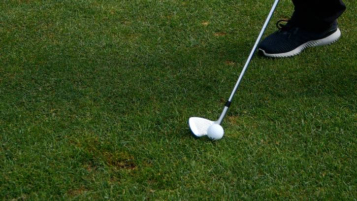 When practicing your wedge game, try using balls you would in actual game play